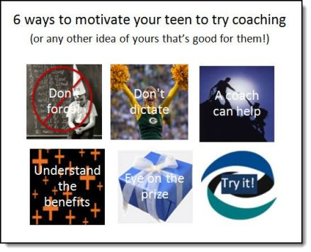 6 ways to motivate your teen to try ADHD coaching